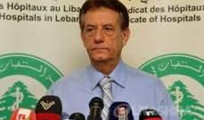 هارون: مستشفيات الروم والوردية والجعيتاوي خارج الخدمة نتيجة الإنفجار