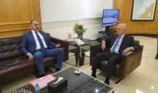 فنيانوس بحث بالملفات السياسية والاقتصادية والإنمائية مع فنيش وهاشم وعبدالله