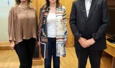 خضرا أطلع الدويهي على عمل منصة Sperare: لحماية اليد العاملة اللبنانية وتطوير المهارات