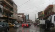 النشرة: تساقط الأمطار على النبطية واقليم التفاح ومرجعيون وبنت جبيل