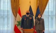 قائد الجيش التقى وزيرة دفاع فرنسا بباريس: الجيش اللبناني يمر بأزمة كبيرة بسبب الوضع الاقتصادي والاجتماعي
