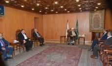 حسن خلال اجتماعه بالخطيب: كل مسعى لجمع القيادات الوطنية هي جهود مباركة