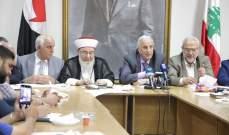 رئيس الحزب القومي: متمسكون بخيار المقاومة لردع العدوانية الاسرائيلية