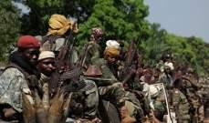 مقتل 30 مدنيا تقريبا بسلسلة هجمات استهدفت سكانا مسلمين بأفريقيا الوسطى