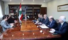 الرئيس عون: الحكومة تعمل بخطى سريعة لانجاز الخطة الاصلاحية