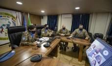 الكتيبة الإيطالية باليونيفيل نظمت دورة تعليم اللغة الإيطالية عبر الإنترنت لصالح سيدات بلدة عين إبل