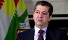 برلمان كردستان العراق منح الثقة لمسرور البارزاني رئيسا لحكومة الإقليم