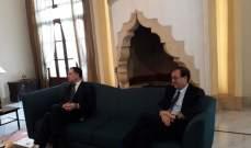 فارنو: نتمنى تشكيل حكومة سريعا وعلى اللبنانيين اختيار الصيغة الحكومية المناسبة
