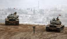 قافلة عسكرية تركية تضم 8 شاحنات ودبابات أوبوس تتجه إلى الحدود السورية