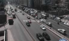 حركة المرور كثيفة من الكرنتينا باتجاه الدورة وصولا الى نهر الموت
