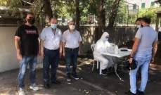 رئيس بلدية عمشيت: اعداد المصابين في البلدة وصل الى 50