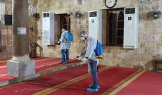 النشرة: حملة تعقيم للمرافق الدينية في  صيدا القديمة