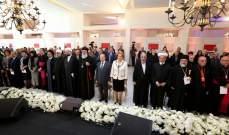 الرئيس عون رأس احتفالا وطنيا جامعا لمناسبة عيد سيدة البشارة في قصر بعبدا