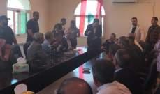وصول وزير الخارجية جبران باسيل الى عرسال للإطلاع على ملف النازحين
