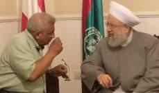 الشيخ ماهر حمود يزور النائب أسامة سعد متضامنا