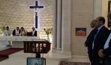 رابطة كاريتاس لبنان اقليم عاليه - بحمدون أقامت القداس السنوي للاقليم