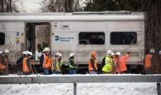 مقتل شخصين إثر اصطدام قطار بحافلة جنوب غربي الدنمارك