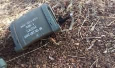 النشرة: طائرة استطلاع اسرائيلية فجرت جهاز تجسس في بلدة الحلوسية عند مجرى الليطاني