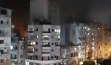 انفجار خزان مازوت داخل احد الأفران في الطريق الجديدة