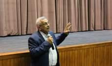 أسامة سعد يدين الاعتداء على ساحات الانتفاضة ويجدد الدعوة إلى حل سياسي