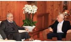 الجمهورية عن مصادر حزب الله:زيارة رعد لفرنجية لا تحمل أي طابع استثنائي