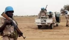 مقتل 3 من جنود حفظ السلام في هجوم في مالي