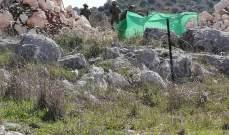 قوة مشاة معادية اجتازت الشريط الشائك في ميس الجبل