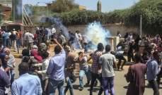 مقتل شخص واصابة 10 اخرين في اطلاق نار على المعتصمين في الخرطوم