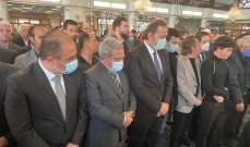 المشرفية ممثلاً رئيس الجمهورية شارك في مراسم تشييع الوزير المعلّم في سورية