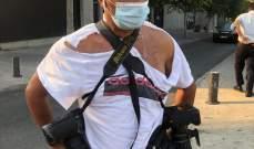 تعرض عدد من الصحافيين والمصورين للإعتداء من قبل عناصر فوج اطفاء بيروت