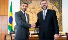 وزير خارجية البرازيل ونظيره الإماراتي وقعا اتفاقيات ومذكرات تفاهم بين البلدين