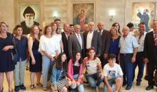الهيئة الإدارية الجديدة لرابطة آل كرم- قرطبا أقامت قداسها السنوي التقليدي