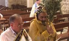 النشرة: الكنائس في زحلة أقامت قداديس الفصح والشعانين دون مصلين