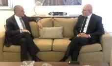 سلام عرض التطورات في لبنان والمنطقة مع سفير الاتحاد الأوروبي في لبنان