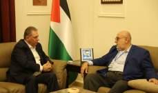 دبور التقى حمدان: نرفض كل محاولات تصفية القضية والمشروع الوطني الفلسطيني