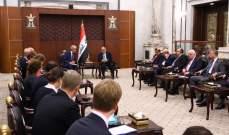 عبد المهدي: التقارب بين العراق والاتحاد الأوروبي يخدم الأمن بالمنطقة والعالم