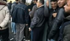 النشرة: مفوضية اللاجئين بدأت بدفع المساعدات الشتوية للنازحين السوريين بالنبطية