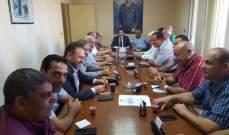 هيئة عودة النازحين السوريين في القومي عقدت اجتماعا للمنفذين العامين