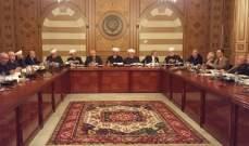 المجلس الشرعي الإسلامي:الوطن يبنى بوحدة قواه ودعم أشقائه وبمقدمتهم السعودية