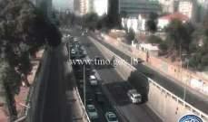 حركة المرور كثيفة من قصقص باتجاه البربير وصولا الى بشارة الخوري