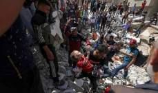 33 قتيلا فلسطينيا في غزة منذ فجر الأحد في أكبر حصيلة يومية منذ الإثنين