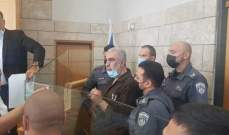 محكمة إسرائيلية تمدد اعتقال الشيخ كمال الخطيب