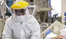 لبنان يحتل المرتبة الثالثة عربيا والـ39 عالميا من حيت عدد الاصابات بكورونا