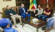النشرة: مسؤول صيدا في حزب الله استقبل وفدا من لجنة حي الطيرة