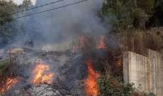الدفاع المدني: إخماد 4 حرائق أعشاب يابسة في عندقت وكفرحزير ويحشوش والبترون