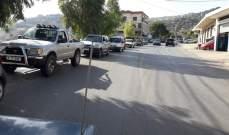 النشرة: طوابير سيارات على محطات الوقود سببت ازدحاما عند مدخل حاصبيا