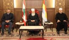 الشيخ نعيم حسن: لتكثيف الجهود على اعلى المستويات لصون لبنان