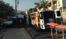 النشرة: جريح في اشكال وقع في شارع غسان حمود في صيدا