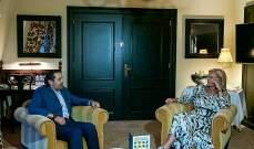 الحريري استقبل في لاهاي وزيرة التجارة الخارجية والتعاون الانمائي الهولندية