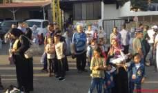 النشرة: وصول دفعات من النازحين السوريين الى سورياعبر معبر المصنع